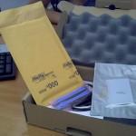El contenido del paquete