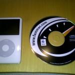 El iPod y el CD con instrucciones